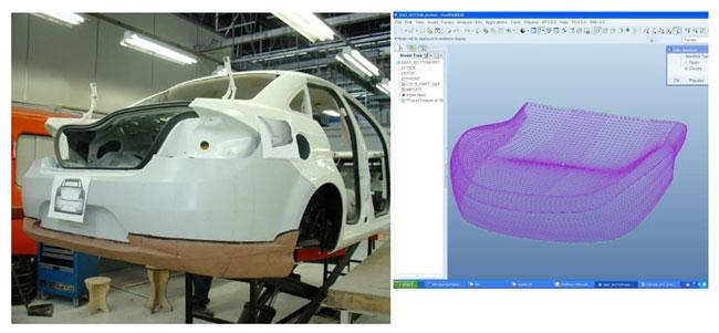 Figura 3 - modelagem clay e assento.